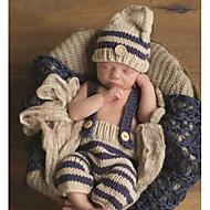 Dijete Uniseks Pamuk Bambus vlakna Print Dnevno Proljeće Sva doba Bez rukávů Komplet odjeće Jednostavan Svijetlosiva