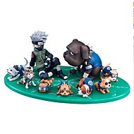 Anime Akcijske figure Inspirirana Naruto Hatake Kakashi PVC CM Model Igračke Doll igračkama Uniseks
