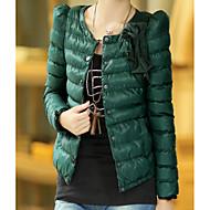 Dame I-byen-tøj Dynejakke - Ensfarvet