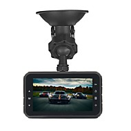 ZIQIAO JL-A80 1920 x 1080 / 1080x720 Bil DVR 170 grader Vidvinkel CMOS 3 inch TFT Dash Cam med G-Sensor / Parkeringsindstilling / Bevægelsessensor Biloptager / auto on / off / WDR / HDR