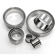 billige Kjeksverktøy-Bakeware verktøy Rustfritt Stål + A-klasse ABS Varmebestandig / baking Tool Kake Pieverktøy