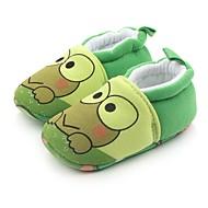お買い得  ベビー用靴-男の子 靴 繊維 春 / 秋 コンフォートシューズ / 赤ちゃん用靴 / 幼児用靴 フラット ゴア のために グリーン