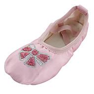billige Ballettsko-Barne Ballett Silke Flate Innendørs Flat hæl Rosa / Kan spesialtilpasses