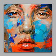 Maalattu Ihmiset Moderni Kanvas Hang-Painted öljymaalaus Kodinsisustus 1 paneeli