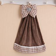 preiswerte Handtuch-Frischer Stil Handtuch, Volltonfarbe Gehobene Qualität Gemischte Polyester/Baumwolle Gewebt Handtuch
