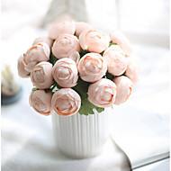 billige Kunstige blomster-7 Gren Polyester Andre Bordblomst Kunstige blomster