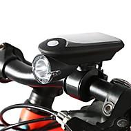 baratos -Luzes de Bicicleta LED Ciclismo Alimentação Solar Com tomada de carregador USB USB 1100 Lumens USB Branco Ciclismo