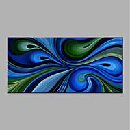 halpa -Maalattu Abstrakti Horizontal,Moderni Kanvas Hang-Painted öljymaalaus Kodinsisustus 1 paneeli