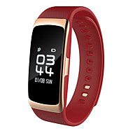 billige -Smart armbånd S68 til iOS / Android Pulsmåler / Blodtrykksmåling / Kalorier brent / Lang Standby / Pekeskjerm Pulse Tracker / Pedometer / Samtalepåminnelse / Aktivitetsmonitor / Søvnmonitor