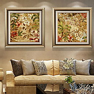 cheap Prints-Still Life Oil Painting Wall Art,Aluminum Alloy Material With Frame For Home Decoration Frame Art Bedroom Indoor