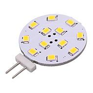 billige Bi-pin lamper med LED-1pc 2W 180lm G4 LED-lamper med G-sokkel 12 LED perler SMD 2835 LED Lys Varm hvit Kjølig hvit 12V