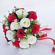 """cheap Wedding Flowers-Wedding Flowers Bouquets Wedding Special Occasion Polyester 9.84""""(Approx.25cm) 9.84""""(Approx.25cm)"""