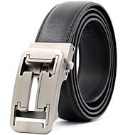 baratos Acessórios Masculinos-Masculino Festa Trabalho Casual Estilo Moderno Fashion Cinto para a Cintura,Palavras Preto