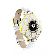 tanie Inteligentne zegarki-Inteligentny zegarek Wielofunkcyjny Spalone kalorie Krokomierze Rejestr ćwiczeń Kontrola APP Czujnik pracy serca Pulse Tracker Krokomierz