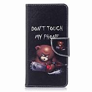 billiga Mobil cases & Skärmskydd-fodral Till Nokia Nokia 8 Nokia 6 Korthållare Plånbok med stativ Lucka Mönster Fodral Ord / fras Hårt PU läder för Nokia 8 Nokia 6 Nokia