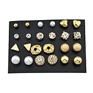 Dámské Peckové náušnice , imitace drahokamu Základní Rock Slitina , Šperky Denní Rande Kostýmní šperky