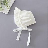お買い得  子供用アクセサリー-女の子 帽子&キャップ,ポリエステル オールシーズン ホワイト