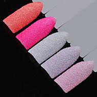 fem-stykke jakkesæt gnist sequins værktøjsposer søm glitter multi-farvet