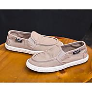 baratos Sapatos de Menino-Para Meninos / Para Meninas Sapatos Lona Primavera / Outono Conforto Mocassins e Slip-Ons para Azul / Rosa claro / Khaki