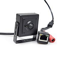 billige Innendørs IP Nettverkskameraer-720p onvif 2.0 1/4 cmos h62 1.0mp 25fps sikkerhet innendørs mini ip kamera cctv 3,7mm objektiv overvåking ip kamera
