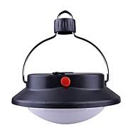 お買い得  フラッシュライト/キャンプ用ランタン-ランタン&テントライト 緊急ライト LED 100 lm 自動 モード - チャージャー付き フォームフィット シンプル パータブル キャンプ/ハイキング/ケイビング ブラック