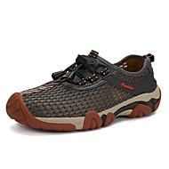 ieftine Pantofi din Plasă pentru Drumeție-Bărbați Pantofi Tul Primăvară / Toamnă Confortabili Adidași de Atletism Drumeții Portocaliu / Gri / Albastru