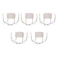 billige Lampesokler og kontakter-5pcs GU10 Lysstikkontakt Keramikk Bulb Accessory 100W