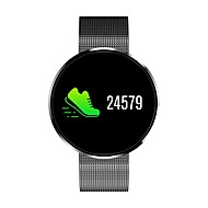 tanie Inteligentne zegarki-Inteligentny zegarek Pulsometr Pomiar ciśnienia krwi Informacje Obsługa aparatu Kontrola APP Krokomierz Rejestrator snu Znajdź moje