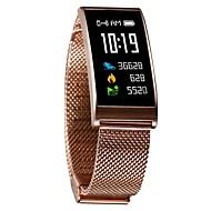 tanie Inteligentne zegarki-Inteligentny zegarek W15 na Android 4.4 / iOS Spalone kalorie / Bluetooth / Wodoszczelny / Czuj dotyku / Kontrola APP Pulse Tracker / Krokomierz / Powiadamianie o połączeniu telefonicznym / Budzik
