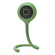 billige Innendørs IP Nettverkskameraer-veskys® 720p 1.0mp infant intelligent trådløst fjernkontrollkamera med temperatur- og fuktighetsovervåking / musikkavspilling /