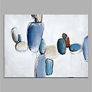 baratos -Pintados à mão Abstrato Horizontal,Modern Tela Pintura a Óleo Decoração para casa 1 Painel
