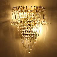 ieftine -Cristal Protecție Ochi Contemporan Pentru Dormitor Coridor Metal Lumina de perete 110-120V 220-240V 20W