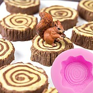 tanie Formy do ciast-Narzędzia do pieczenia żel krzemionkowy Narzędzie do pieczenia / Urodziny / Święto Dziękczynienia Ciasteczka / Cupcake / na ciasto Formy do Ciastek