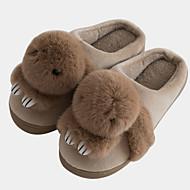 levne Pantofle-Žabky dům pantofle Dámské pantofle Polyester Polyester