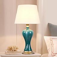 billige Lamper-Enkel Øyebeskyttelse Bordlampe Til Soverom Keramikk 220V Grønn