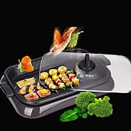 billiga Kök och matlagning-Elektrisk grill Multifunktion Japanskt Rostfritt Stål termiska Spisar 220V Köksmaskin