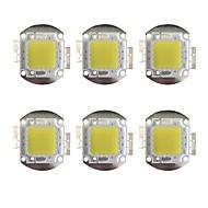 billige belysning Tilbehør-GuoRenGuangDian 6pcs 12000 Led Brikke Messing Bulb Accessory 100W