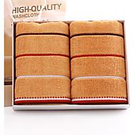 billiga Handdukar och badrockar-Överlägsen kvalitet Tvätt handduk, Randig Ren bomull Badrum