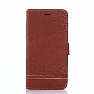 billiga Mobil cases & Skärmskydd-fodral Till Huawei Honor 9 Honor 8 Korthållare Plånbok med stativ Lucka Fodral Ensfärgat Hårt PU läder för Honor 9 Honor 8 Honor 7X Honor