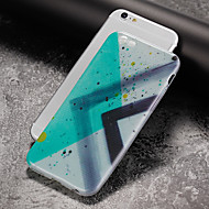 billiga Mobil cases & Skärmskydd-fodral Till Apple iPhone 7 / iPhone 7 Plus Ultratunt / Mönster Skal Geometriska mönster Mjukt TPU för iPhone 7 Plus / iPhone 7 / iPhone 6s Plus