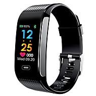 tanie Inteligentne zegarki-Inteligentny zegarek YY-CK18s na Android 4.4 / iOS Pomiar ciśnienia krwi / Spalone kalorie / Krokomierze / Anti-lost / Kontrola APP Pulsometr / Krokomierz / Rejestrator aktywności fizycznej / Budzik