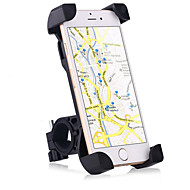 Motorcycle / Bike Mobile Phone Mount Stand Holder Adjustable Stand Mobile Phone Buckle Type / Slip Resistant Silicone Holder