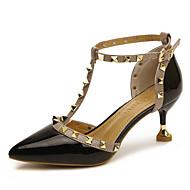 Χαμηλού Κόστους -Γυναικεία Παπούτσια Δερματίνη / PU Άνοιξη / Φθινόπωρο Ανατομικό Τακούνια Ψηλοτάκουνο Λευκό / Μαύρο / Κόκκινο