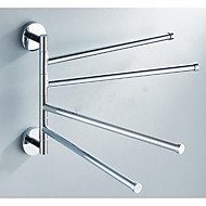 cheap Bathroom Products-Towel Bar Universal Stainless Steel 1 pc - Hotel bath 4-towel bar