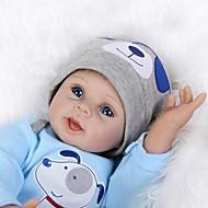 Χαμηλού Κόστους Home-NPK DOLL Κούκλες σαν αληθινές Μόδα Παιδιά 55cm Βινύλιο όμοιος με ζωντανό Χαριτωμένο Ασφαλής για παιδιά Αλληλεπίδραση γονέα-παιδιού