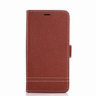 billiga Mobil cases & Skärmskydd-fodral Till Xiaomi Korthållare Plånbok med stativ Lucka Fodral Ensfärgat Hårt PU läder för Redmi Note 5A Xiaomi Redmi Note 4X Xiaomi
