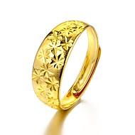 Herre Manchet ring - Guldbelagt Union Jack Basale, Mode Justerbar Guld Til Afslappet / Daglig