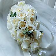 billiga Brudbuketter-Brudbuketter Bukett Unik bröllopsdekor Andra Bröllop Fest / afton Bal Material 0-10 cm 0-20cm