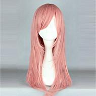 コスプレウィッグ ロリータ ピンク 純色 ロリータウィッグ 55cm cm コスプレウィッグ ソリッド かつら 用途