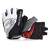 cheap Cycling Gloves-Nuckily Sports Gloves Bike Gloves / Cycling Gloves Gloves Reflective Wearable Breathable Wearproof Anti-skidding Article Glances